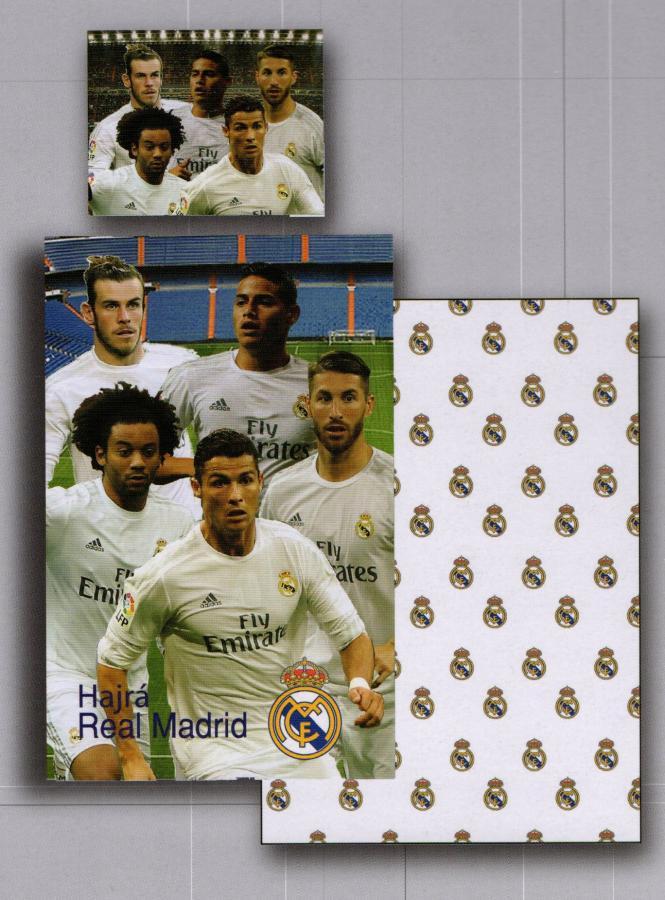 2c818a519 Cactus Clone obliečky Bavlna Real Madrid hráči 140x200, 70x90 ...