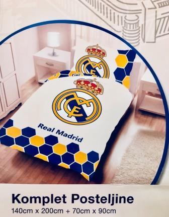 0ed092c0d Top Brands obliečky Bavlna Real Madrid 1 140x200, 70x90 | grasshopper.sk