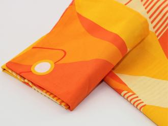 Holey Quilt® Zipper Bavlna Dabih orange 140x200, 70x90cm