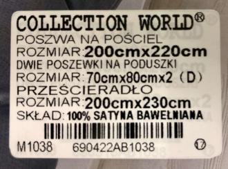 Collection world obliečky, 100% Bavlna,MAX, Ornament, 200x220, 2ks-70x80cm
