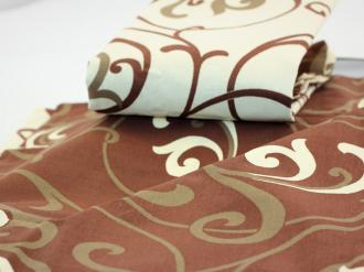 Holey Quilt® Zipper Bavlna Mimosa brown 140x200, 70x90cm